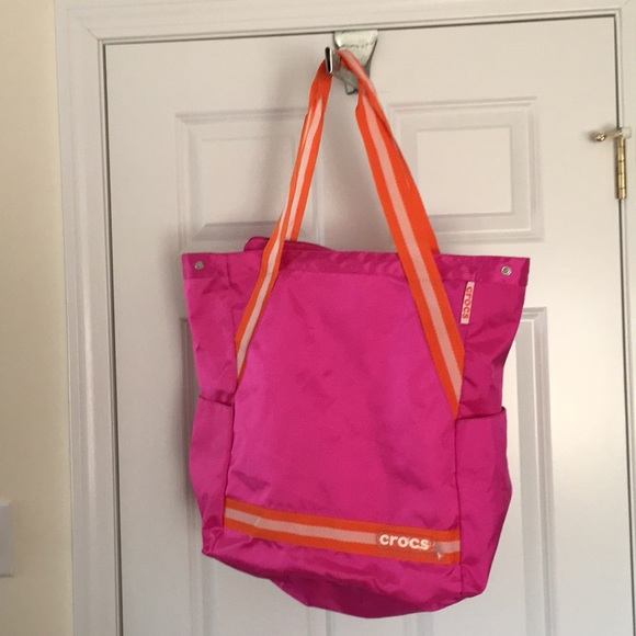 887617fb4 CROCS Handbags - Crocs canvas bag. **PRICE FIRM